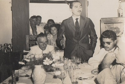 Imagem do Dr. José Aroldo Cavalcante Mota em campanha.