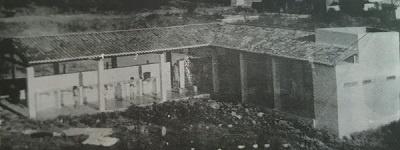 Imagem da lavanderia pouco tempo depois de sua construção.