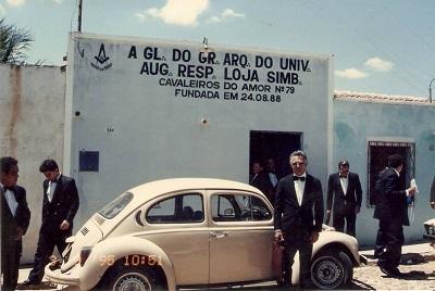 Imagem do antigo endereço da Loja Cavaleiros do Amor, em 1995.