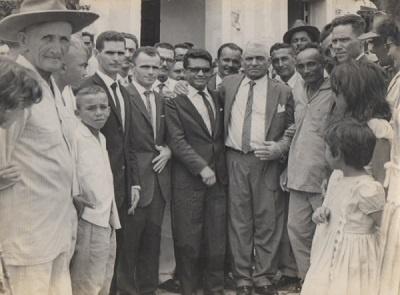 Na imagem, quatro figuras políticas que comandaram os destinos do Município de Boa Viagem por aproximadamente seis décadas.