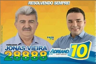 Imagem do material de campanha.