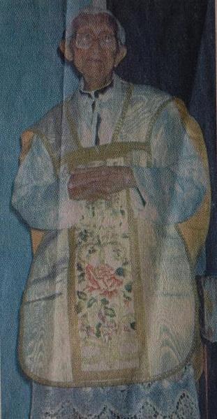 Imagem do Mons. José Gaspar de Oliveira.