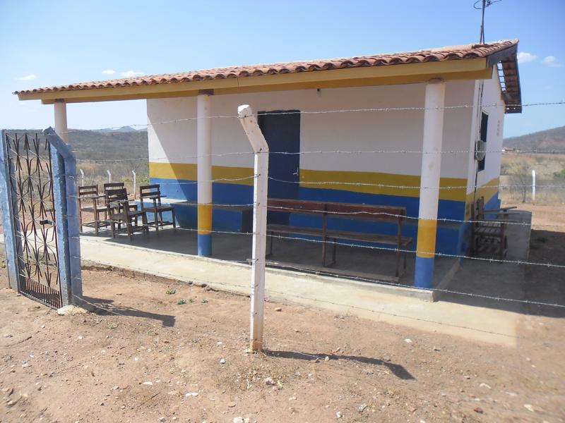 Imagem do Posto da Saúde do Olho d'Água Seco, em 2016.