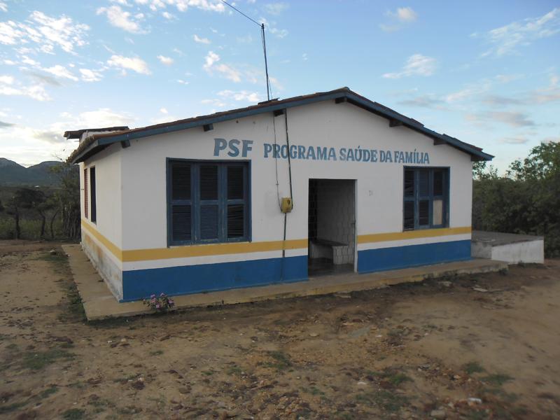 Imagem do Posto de Saúde da localidade de Trapiá, em 2013.