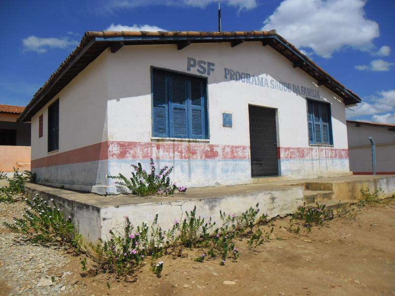 Imagem do Posto de Saúde do Barro Vermelho, em 2015.