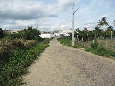 Passagem molhada do Bairro Vila Holanda.