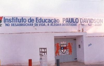 Instituto de Educação paulo Davidson em 1998.