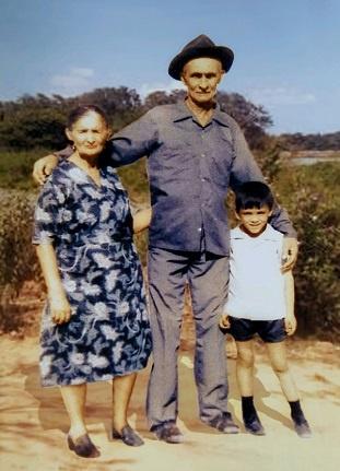 Imagem de Pedro Alves Facundo e sua esposa, Júlia Facundo.