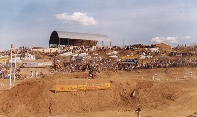 Imagem do local onde se encontra o Centro de Esportes, no local já funcionou uma pista de motocross.