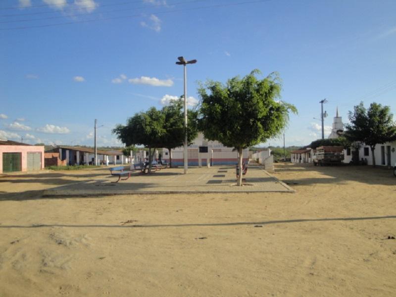 Praça Deonete Vieira da Silva, em 2009.