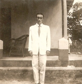 Imagem do Rev. Ezequiel na época de Seminário.