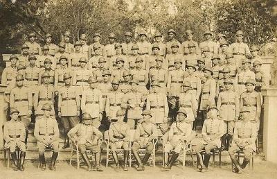 Soldados pernambucanos da Revolução Constitucionalista de 1932.