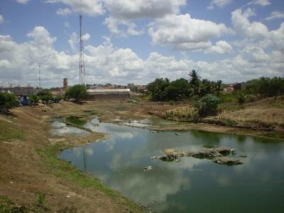 Imagem do Rio Boa Viagem depois do desassoreamento.