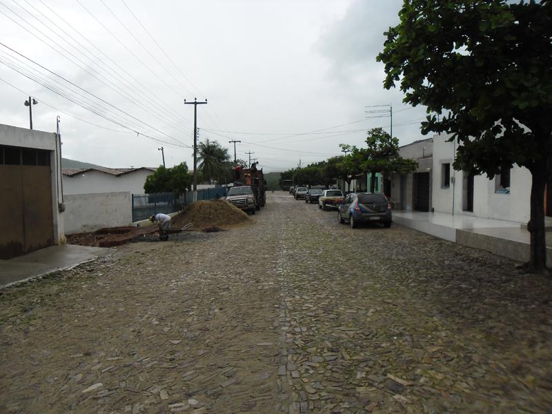 Rua Aluísio Ximenes de Aragão em 2014.