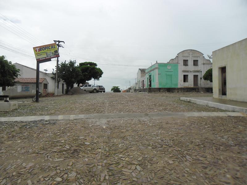 Cruzamento com a Rua