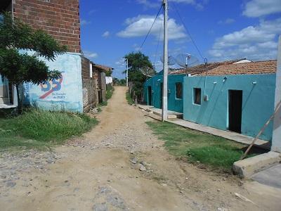 Imagem da Rua Capitão Primo Ferreira de Melo, em 2015.