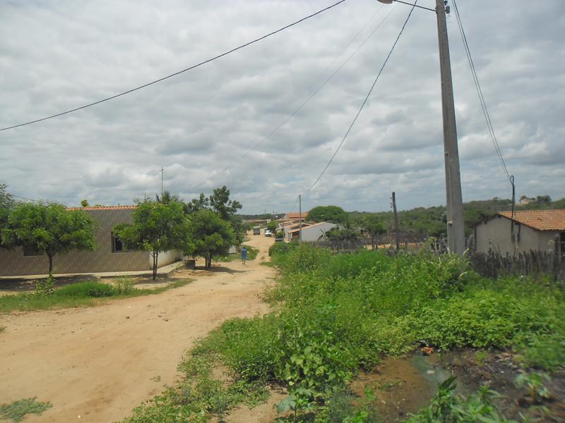 Rua David Vieira da Silva em 2014.