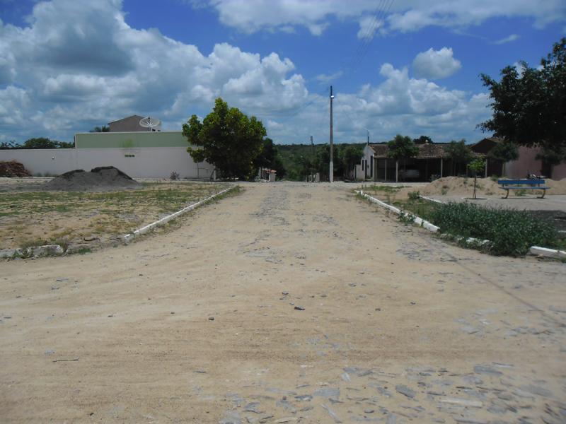 Rua José Vieira de Freitas em 2014.