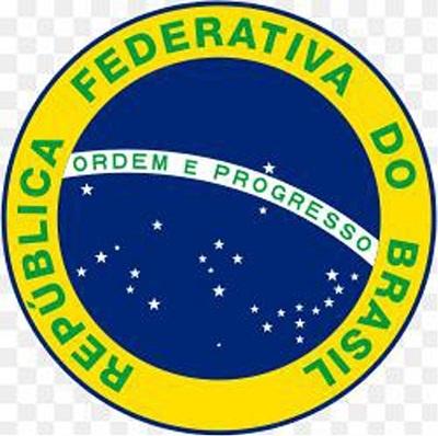 Imagem do selo da República Federativa do Brasil.