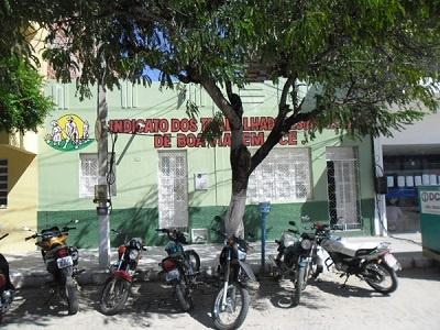Imagem do Sindicato dos Trabalhadores Rurais de Boa Viagem, em 2013.