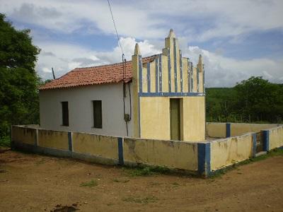 Imagem do templo da Igreja Evangélica Congregacional de Pitombeira.