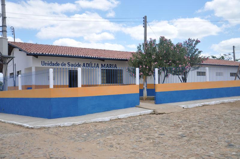 Imagem da Unidade Básica da Saúde Adília Maria de Lima, na vila de Ipiranga, em 2015.