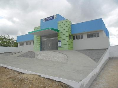 Unidade Básica da Saúde Aureliano Verçosa Lima, em 2016.