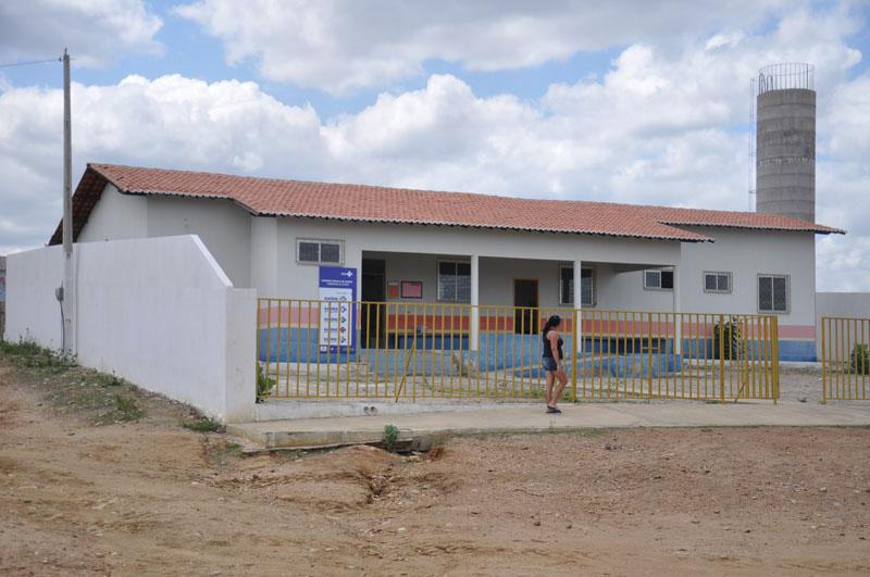 Imagem da Unidade Básica da Saúde Jacob Angelim de Sousa, em 2015.