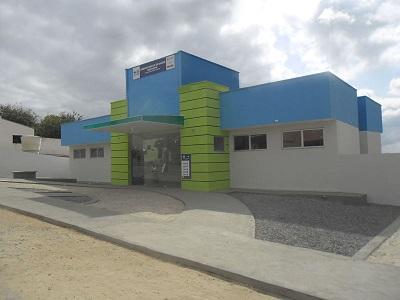 Imagem da Unidade Básica de Saúde Luís Leandro de Oliveira, em 2015.