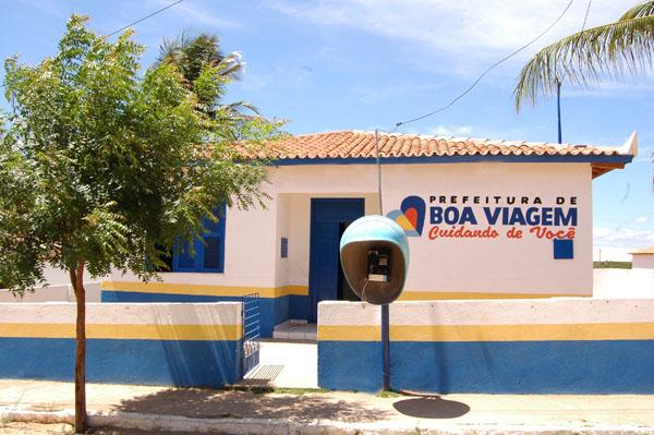 Imagem da UBS Raimundo Alves Campos, em 2012.