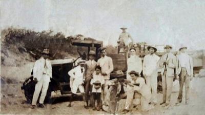 Imagem de um dos primeiros veículos a circular pelas ruas da cidade de Boa Viagem.