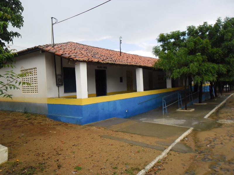 Escola de Ensino Fundamental Pe. Vital Elias Filho em 2014.