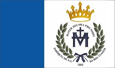 Bandeira da paróquia de Nossa Srª da Boa Viagem.