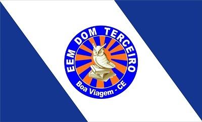 Bandeira da Escola de Ensino Médio Dom Terceiro.
