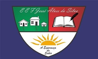 Bandeira da Escola Jessé Alves da Silva.