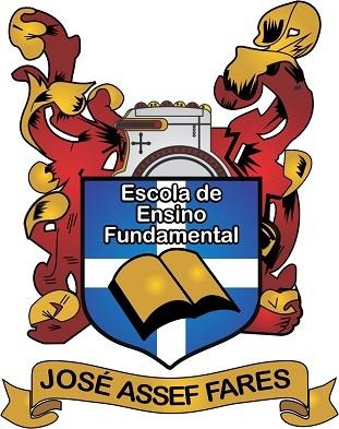 Brasão da Escola de Ensino Fundamental José Assef Fares.