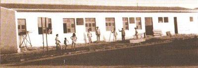 Imagem da construção da Casa de Saúde, 1969.